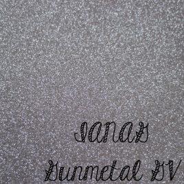 Gunmetal Glitter Vinyl