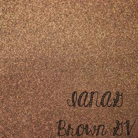 Brown Glitter Vinyl