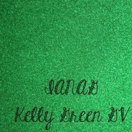Kelly Green Glitter Vinyl