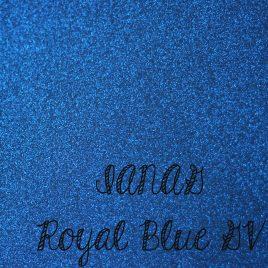 Royal Blue Glitter Vinyl