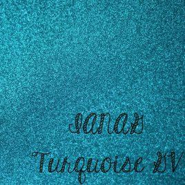 Turquoise Glitter Vinyl