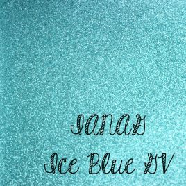 Ice Blue Glitter Vinyl