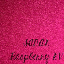 Raspberry Glitter Vinyl