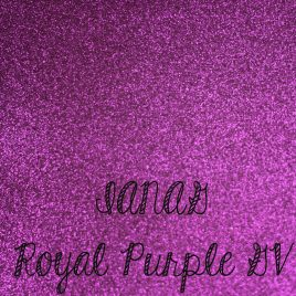 Purple Glitter Vinyl