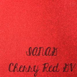 Cherry Red Glitter Vinyl