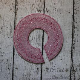 In the hoop Heart Closet Divider, Girly Heart Closet Section Separator, Embroidery Design, Digital File (Copy)