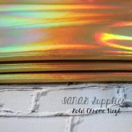 Gold Chrome Vinyl