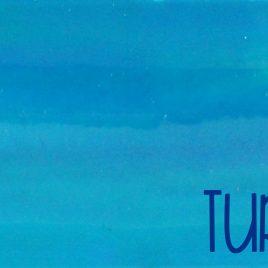 Turquoise Chrome Embroidery Vinyl – Sewing Vinyl – Craft Vinyl