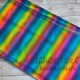 Rainbow Chrome Embroidery Vinyl – Sewing – Craft Vinyl