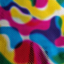 Psychedelic Scale Embroidery Vinyl – Sewing Vinyl – Craft Vinyl