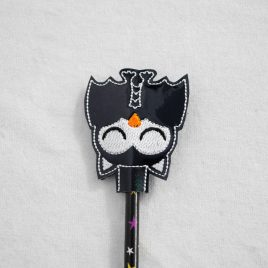 Bat Owl, Sleeping, Owl, Halloween Owls, Pencil Toppers, SET, Embroidery Design, Digital File