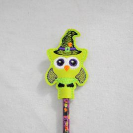Witch Owl Are You, Owl, Halloween Owls, Pencil Toppers, SET, Embroidery Design, Digital File