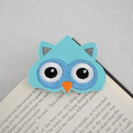 Owl Corner Bookmarks, Embroidery Design, Digital File