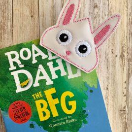 Bunny Corner Bookmarks, Embroidery Design, Digital File