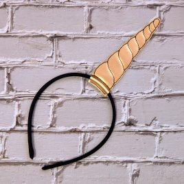 Horn Headband Slider, Embroidery Design, Digital File