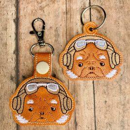 Kuiil, Keyfobs, Embroidery Design, Digital File